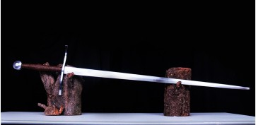 The Knight Longsword - Steel Generation